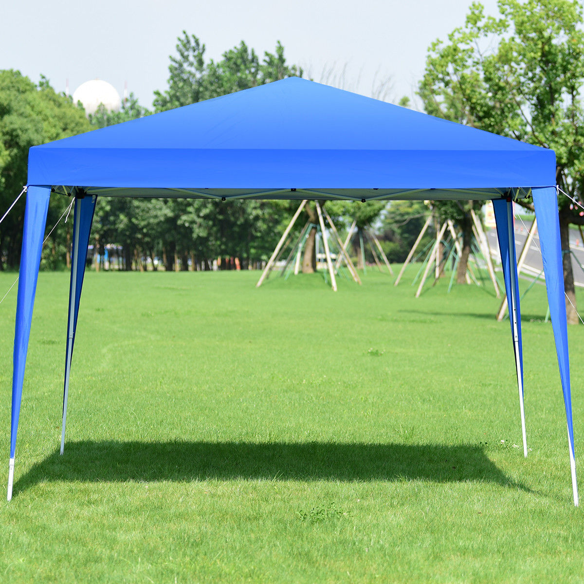 Actual Color  sc 1 st  Walmart Canada & Gymax 10 x 10 FT Pop-Up Outdoor Tent Foldable Portable Shelter ...
