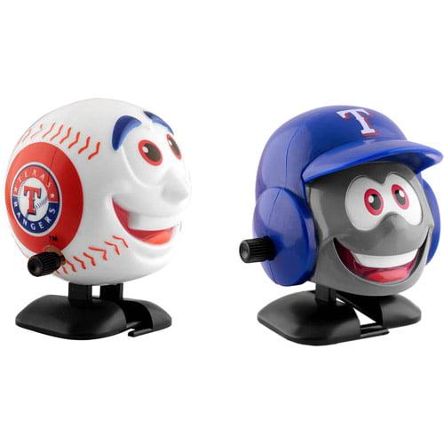 MLB Texas Rangers Wind-Up Baseball and Team Helmet