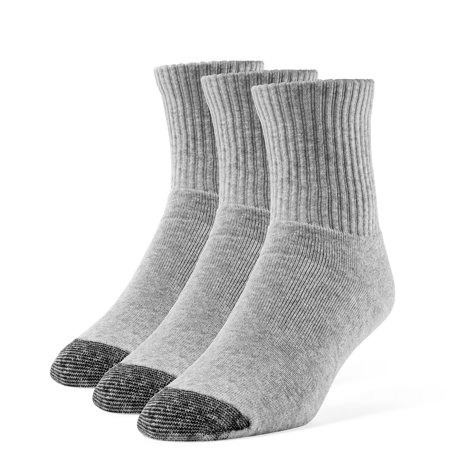 Men's Cotton Extra Soft Quarter Cushion Socks - 3 -