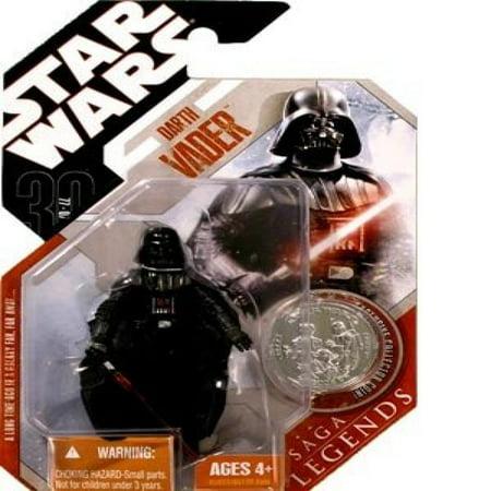 Star Wars Saga Collection 2006 Darth Vader Action Figure [Hoth]