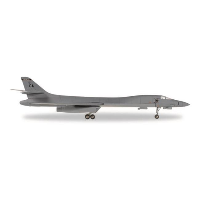 Herpa 1-200 Scale Military E558181 US Air Force Rockwell B-1B Lancer Georgia ANG 128th, 1-200 by Herpa 1 200 Scale Military