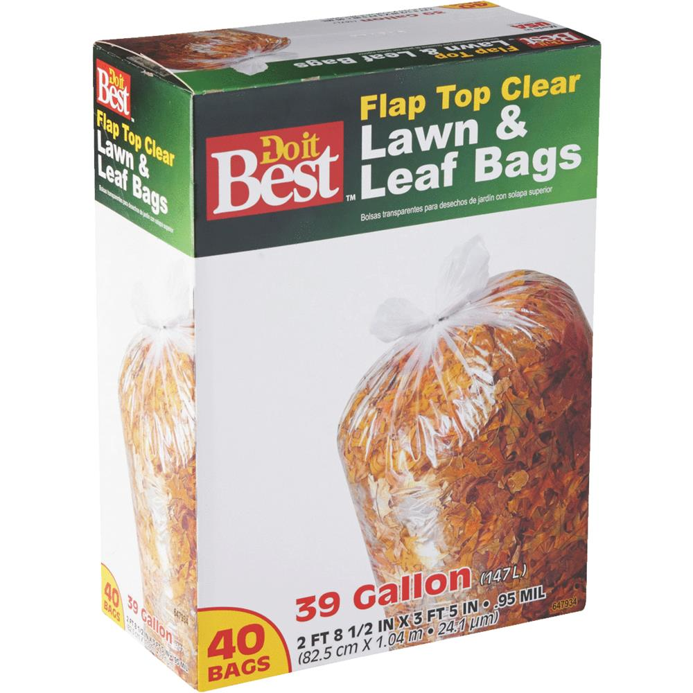 Presto Products 39gal/40ct Lawn/Leaf Bag 647934