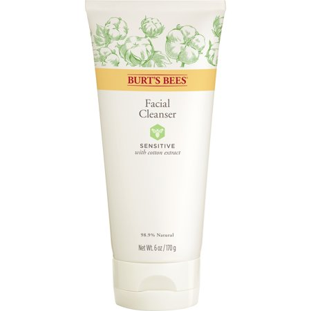 Burt's Bees Face Cleanser for Sensitive Skin, 6