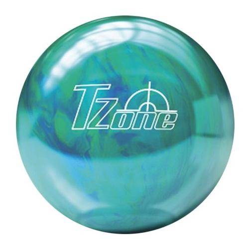 Brunswick T-Zone Carribean Blue Bowling Ball  (10lbs)