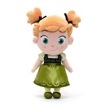 Anna Top - Disney Official Frozen 12 in. Toddler Baby Anna Soft Plush Toy