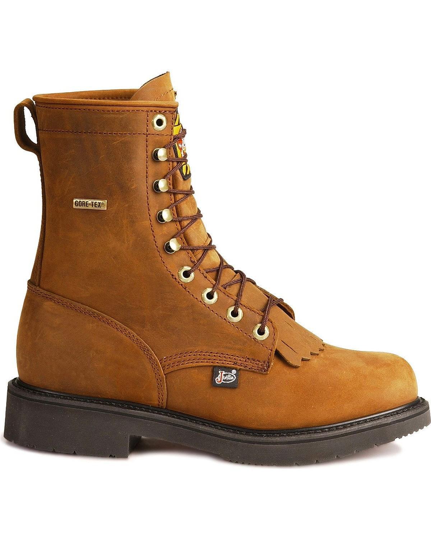Justin Boots - Justin Men's Aged Bark