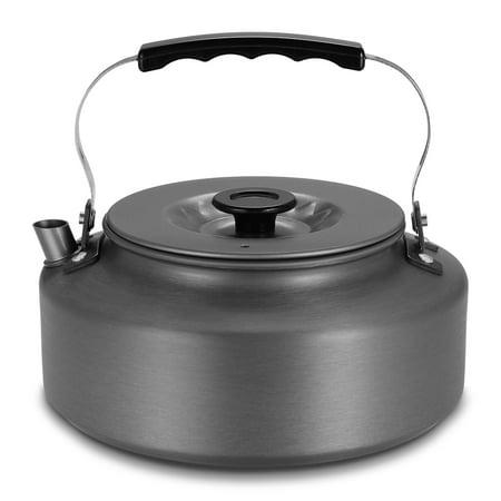1.6L Portable Water Kettle Water Pot Teapot Coffee Pot Indoor Whistling Aluminum Alloy Tea Kettle Outdoor Camping Hiking Picnic (Casa Moda Indoor Outdoor S Mores Maker)