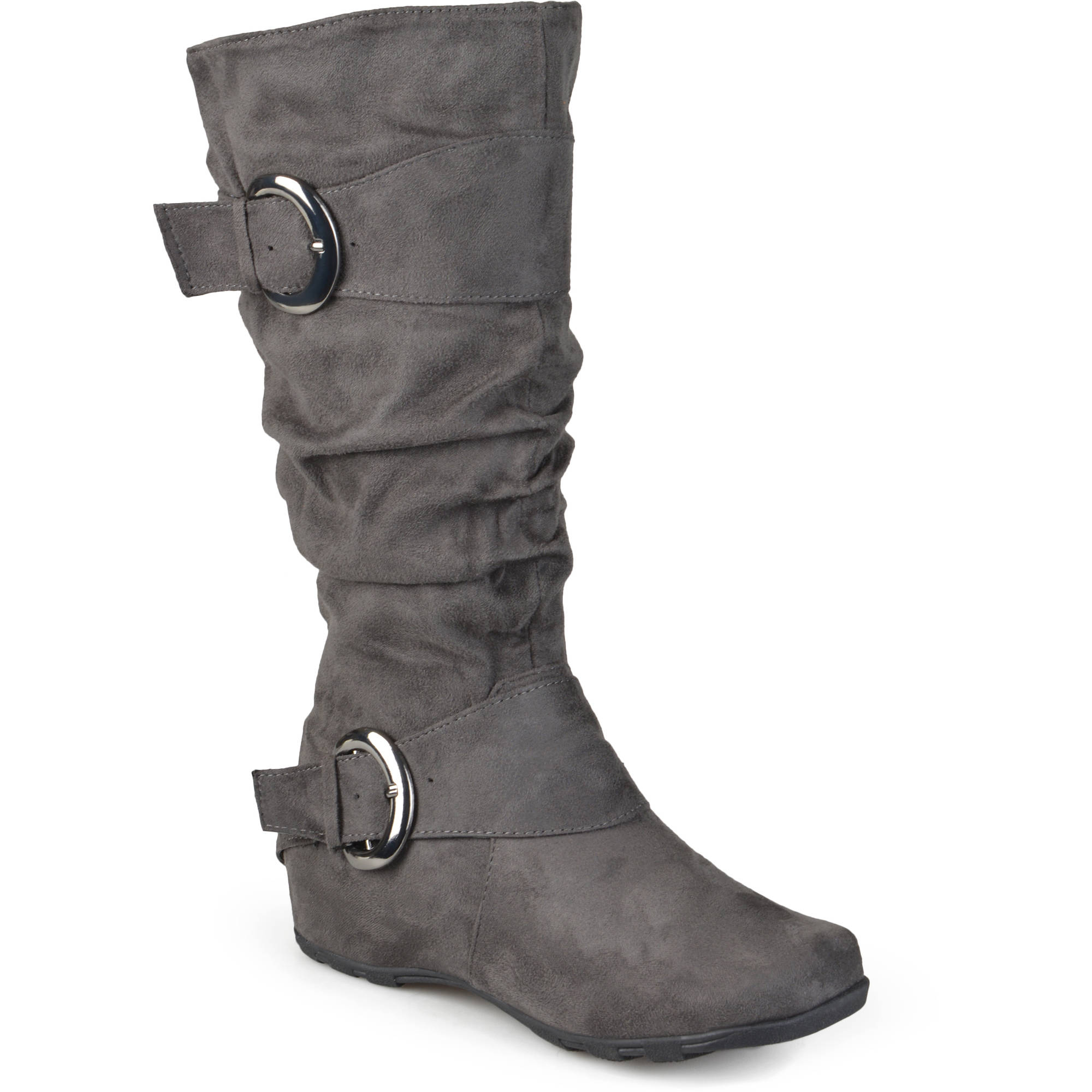Women's Slouchy Wide Calf Boots