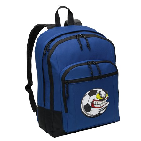 Soccer Fan Backpack BEST MEDIUM Soccer Nut Backpack School