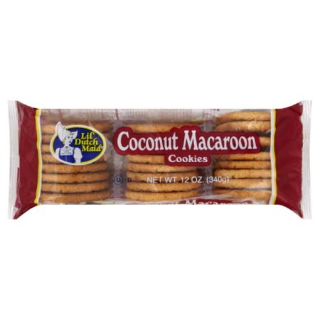 Little Dutch Maid Coconut Macaroons (Best Maid Cookie Factory)