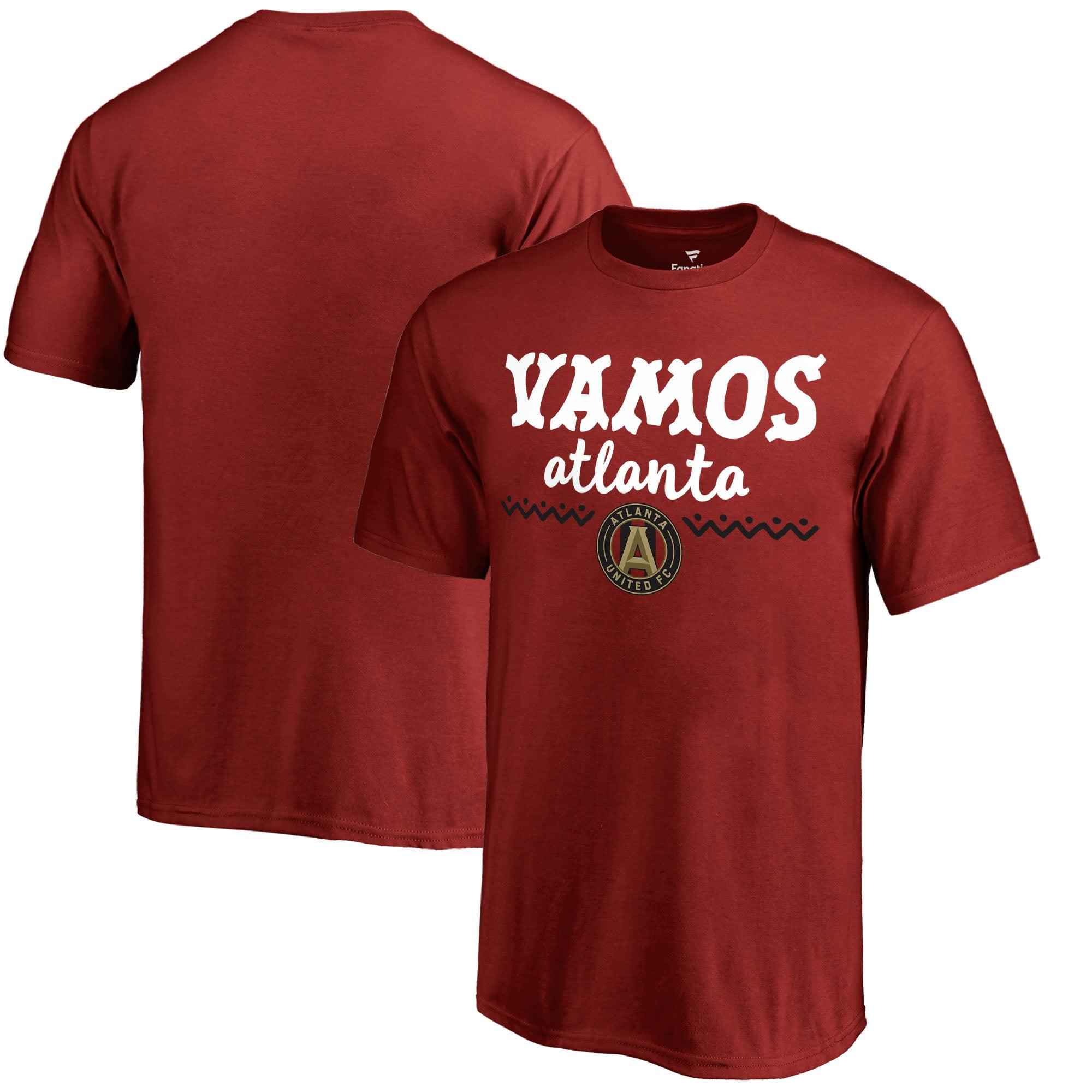 Atlanta United FC Fanatics Branded Youth Hispanic Heritage Let's Go T-Shirt - Red