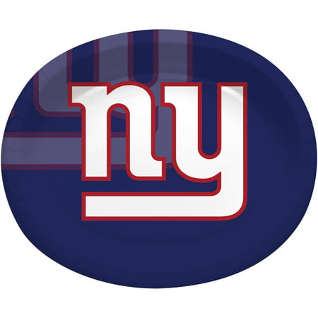 New York Giants Oval Platters, 8-Pack (New York Giants New York Jets Tickets)