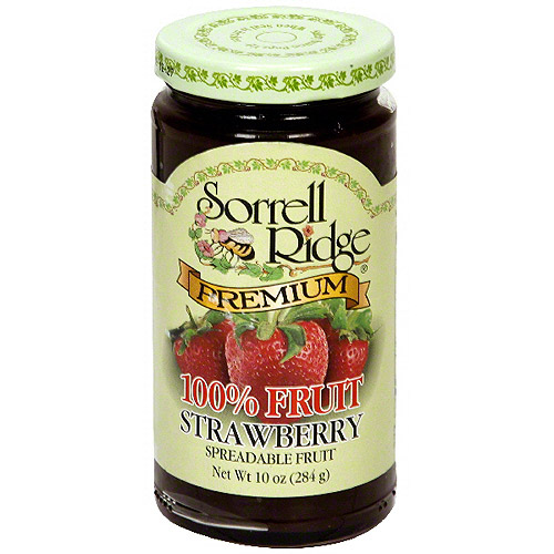 Sorrell Ridge Strawberry Spreadable Fruit, 10 oz (Pack of 6)