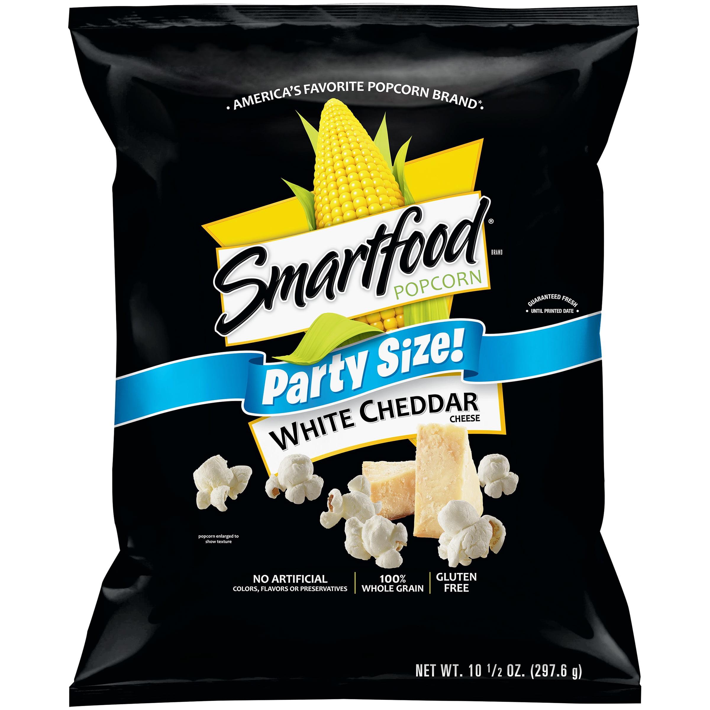 Smartfood Party Size White Cheddar Cheese Popcorn 10.5 oz. Bag