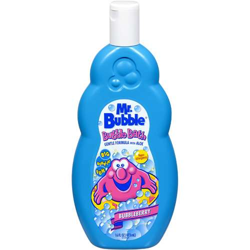 Mr. Bubbles Mr. Bubble Bubbleberry 16oz