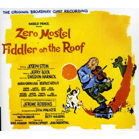Fiddler On The Roof (CD) (Sunrise Sunset Instrumental Fiddler On The Roof)