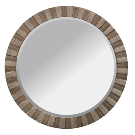 Image of Alpine Art and Mirror Lyone Wall Mirror Two Toned Bronze