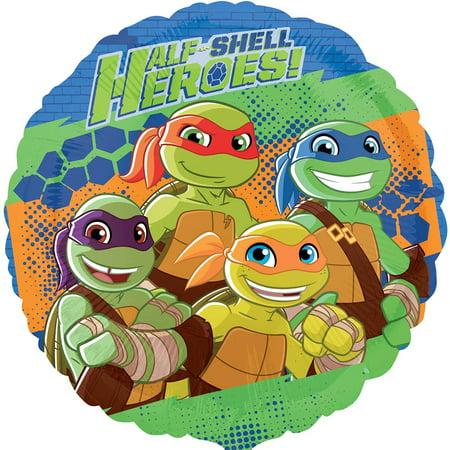 Ninja Turtles Half Shell Heroes Authentic Licensed Foil / Mylar Balloon 18