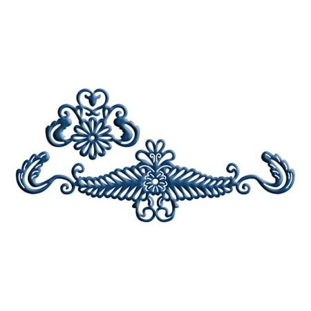 Venetian Lace Accent (Tattered Lace Die - Venetian Border Accent (2 pc) )