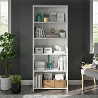 Mainstays Heritage 5 Shelf Bookcase, Multiple Colors