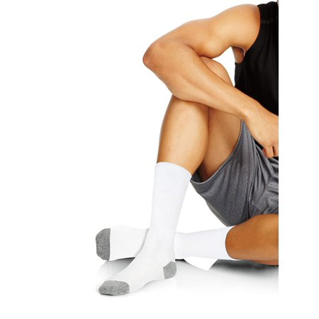 Hanes Men's X-Temp Comfort Cool Crew Socks 6-Pack (Tmnt Socks)