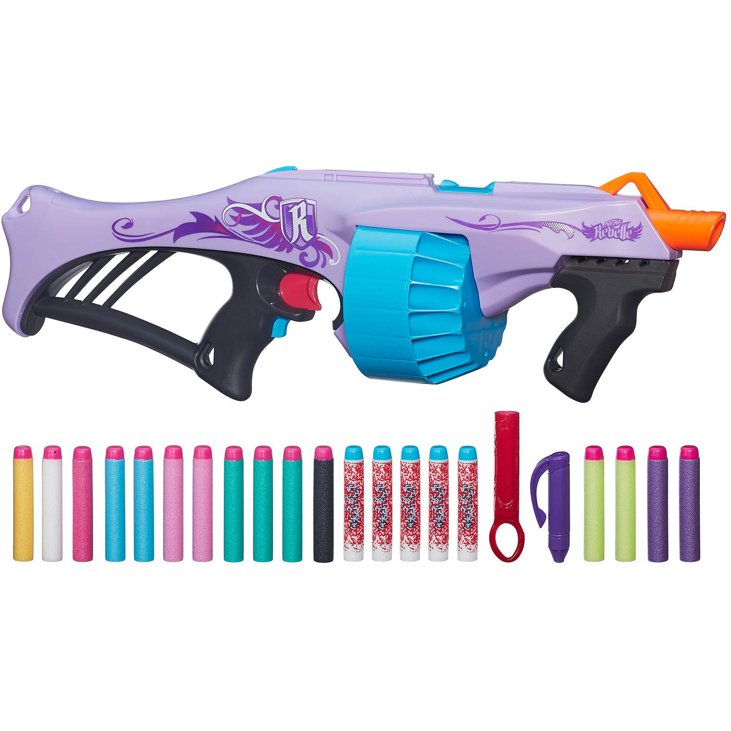 Nerf Rebelle Fearless Fire Blaster by Graco