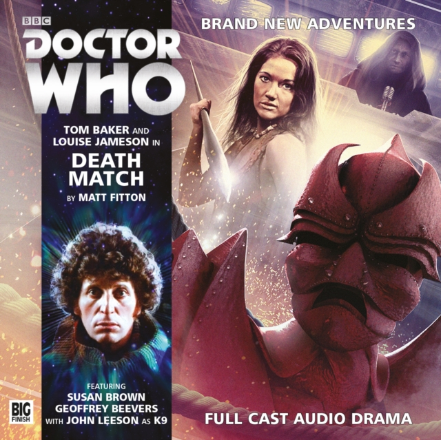 Death Match (Doctor Who: The Fourth Doctor Adventures) (Audio CD)