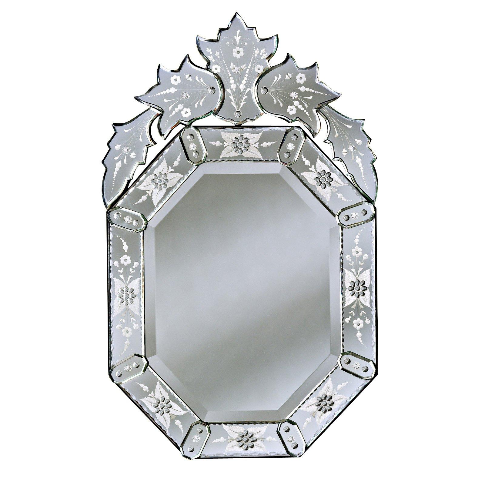 Olivia Venetian Medium Wall Mirror - 20W x 33H in.