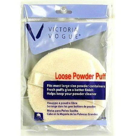 Victoria Vogue Round Loose Powder Puff 1 ea ()
