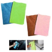 3 Pc Multi Purpose Microfiber Cloth Cleaning Rag Window Cleaner Towel Car Detail