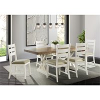 Picket House Furnishings Barrett Rectangle 5PC Dining Set-Table and Four Chairs