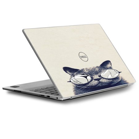 Skin Decal for Dell XPS 13 Laptop Vinyl Wrap / Cool Cat Kat Shades Glasses Tumblr