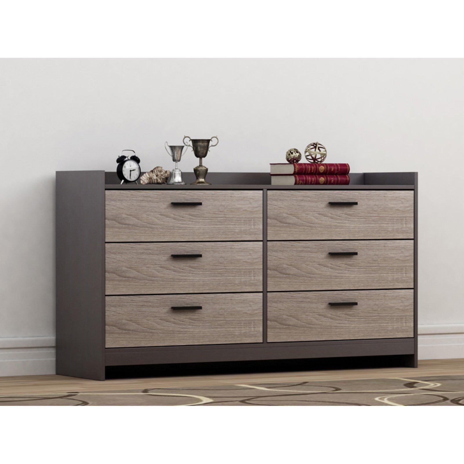 Homestar Central Park 6-Drawer Dresser, Multiple Finish