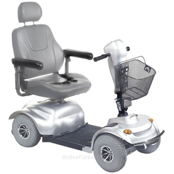 Golden Avenger 4 Wheel Scooter Weight Capacity 500lbs-Silver