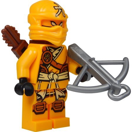 Lego Ninjago Minifigure   Skylor Female Orange   Gold Ninja With Crossbow And Quiver  70746