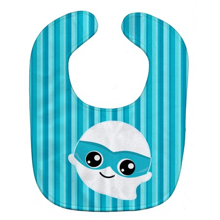 Halloween Ghost Superhero Baby Bib BB6963BIB](Halloween Bibs)