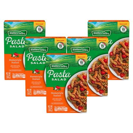 (5 Pack) Hidden Valley Homestyle Italian Pasta Salad - 7.25 oz](Halloween Pasta Salads)