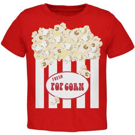 Halloween Popcorn Costume Toddler T Shirt (Popcorn Halloween Costume)