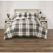 Better Homes & Gardens 3-Piece King Homestead Plaid Comforter Set