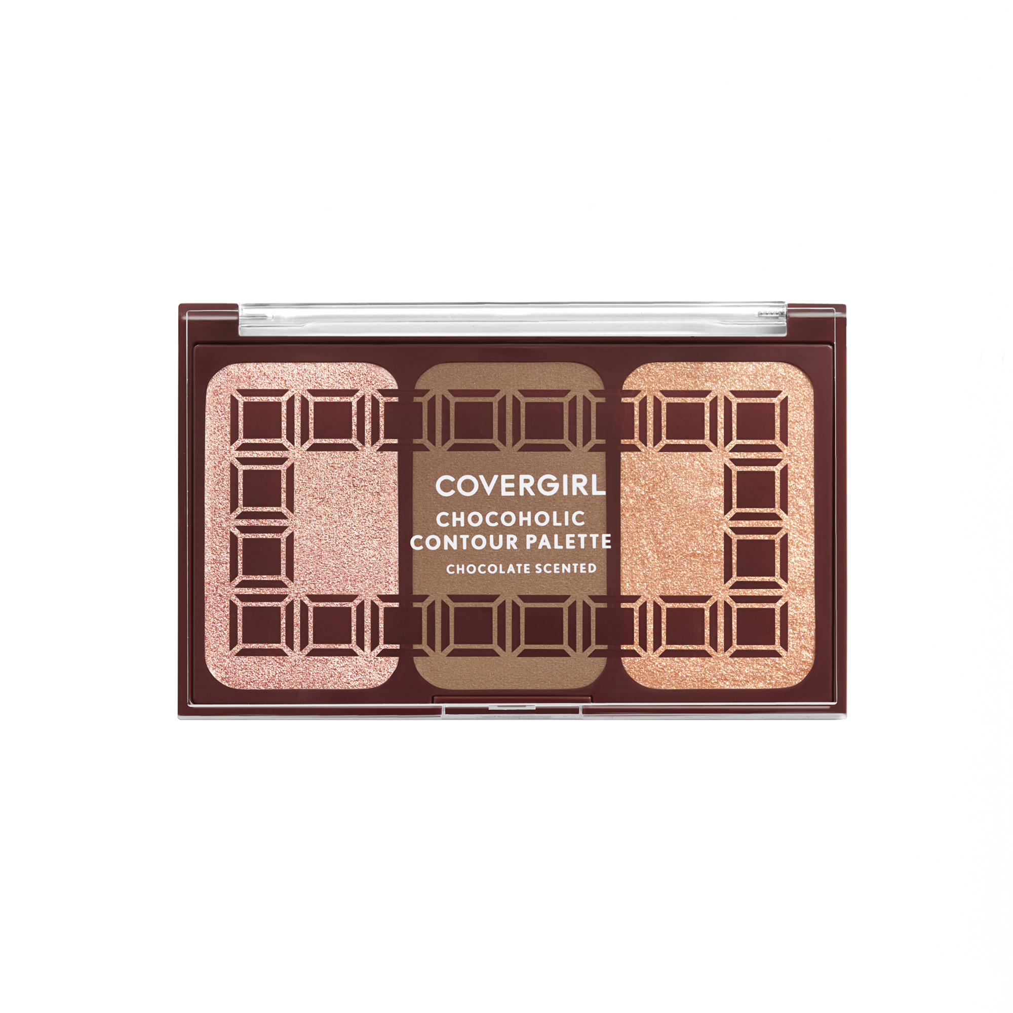 COVERGIRL Chocolate Scented Collection, Chocoholic Contour Palette, 140