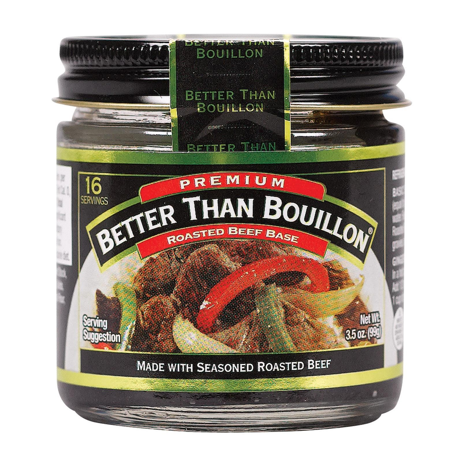 Better Than Bouillon Seasoning - Roasted Beef Base - pack of 8 - 3.5 Oz.