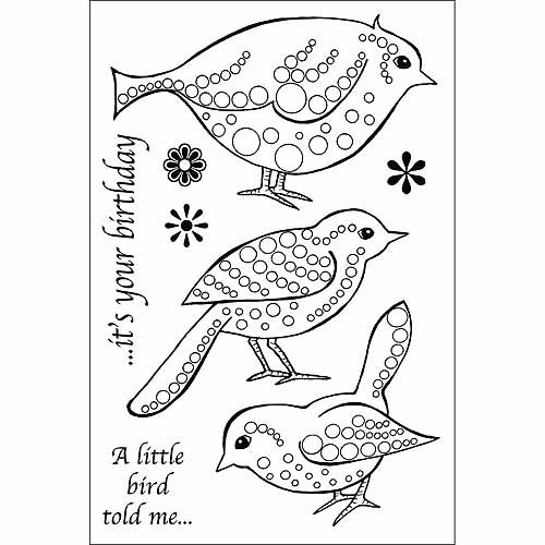 "Woodware Clear Stamps, 4"" x 6"""
