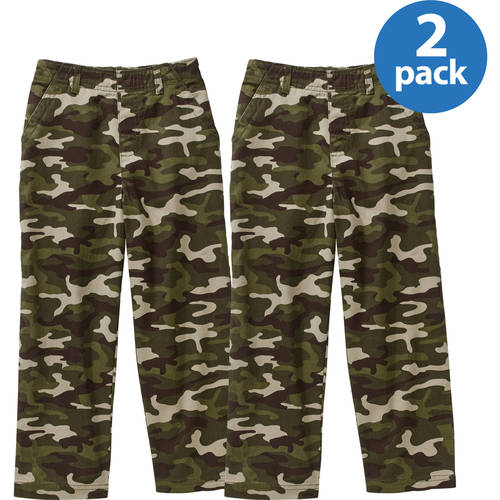 Image of 365 Kids From Garanimals Boys Flat Front Printed Pants