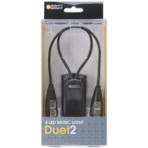 Mighty Bright Duet2 LED Music Light-Black by Overstock