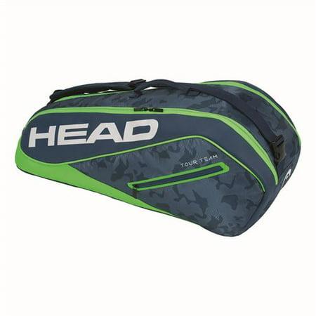Head Tour Team 6 Pack Combi Tennis Bag - (Best Tennis Bags Heads)