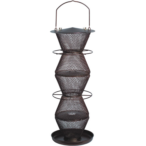 NO NO 5-Tier Bronze Wild Birdfeeder by Perky-Pet