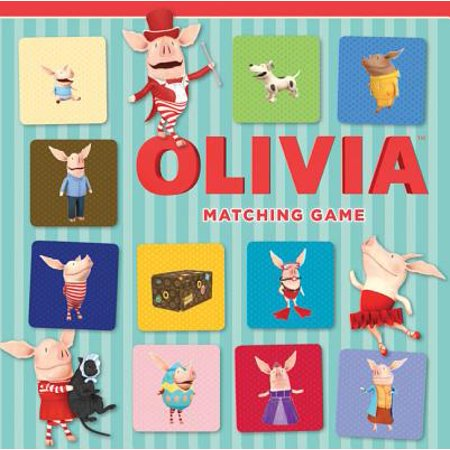Olivia Matching Game - Olivia Halloween Games