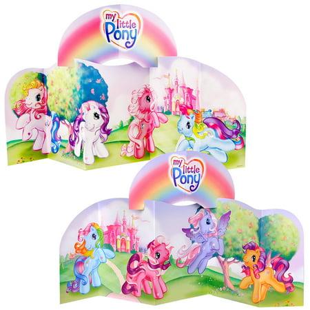 My Little Pony Centerpiece (80's Themed Centerpieces)