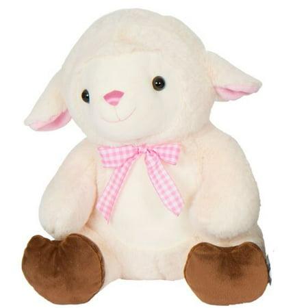 Kellytoy Easter 14 inch Sitting Animals Lamb (Lamb Plush Animal)