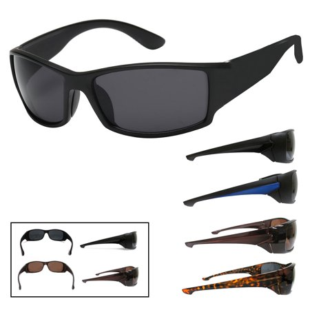 Mens Fashion Sunglasses Gangster Style Shades Sport Motorcycle Smokey Lens Biker](Gangster Fashion)